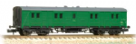 374-631A Farish SR 50ft Bogie B Luggage Van BR (SR) Green